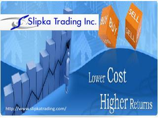 Best Online Trading Services Of Slipka Trading