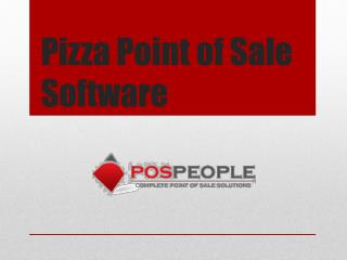 Pizza Point of Sale Software