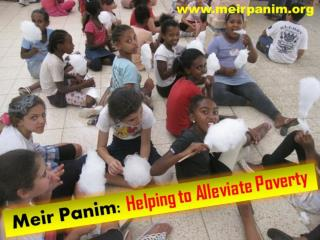 Meir Panim - Helping to Alleviate Poverty