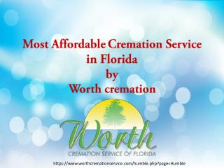 Most Affordable Cremation Service in Florida