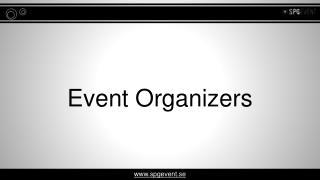 Exclusive Event and Conference Organizers in Sweden