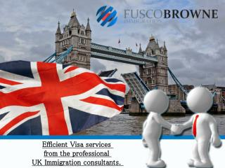 Efficient Visa services from the professional UK Immigration
