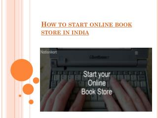 How to Start Online Book Store In India