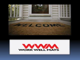Quality Anti-Fatigue Mats from Work Well Mats