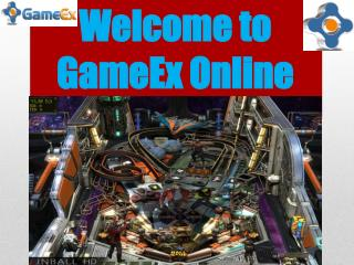 Welcome to GameEx Online