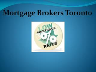 Mortgage Brokers Toronto