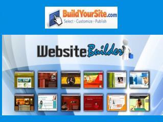 Build Your Website with BuildyourSite.com
