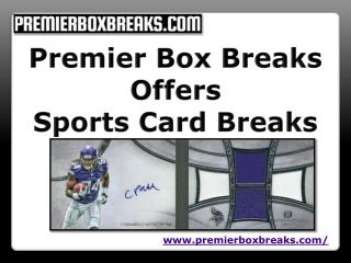 Enjoy your life with group box breaks