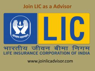how to join lic agent