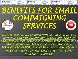 Benifits For Email Compaigning Services