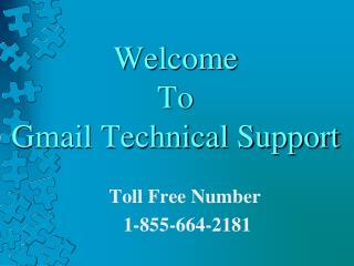 Gmail Technical Support Number USA