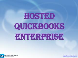 Hosted Quickbooks Enterprise