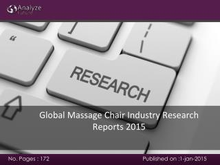 Analyze future: Global Massage Chair Industry Research Repor