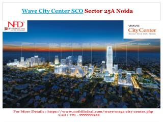 wave retail shops in sector 25a noida