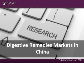 Digestive Remedies Markets Analysis, Share & Report Research