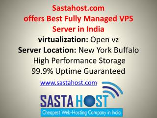 fully managed vps and unmanaged dedicated server