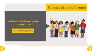 Toronto Day Care & Nursery Schools