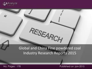 Analyze future :Global and China Fine powdered coal Industry