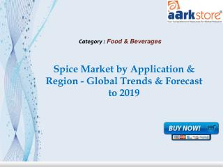 Aarkstore - Spice Market by Type Application & Region