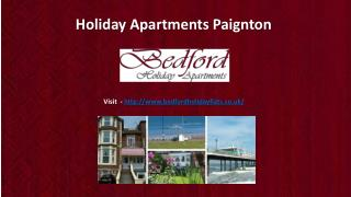 Holiday Apartments Paignton, Self Catering Accommodation