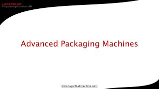 Advanced Packaging Machines