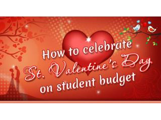 How to celebrate Valentine's day on student budget