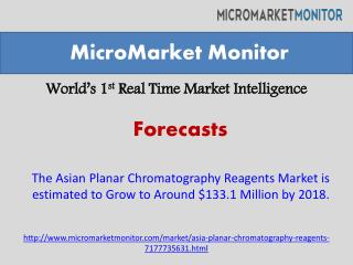The Asian Planar Chromatography Reagents Market is estimated