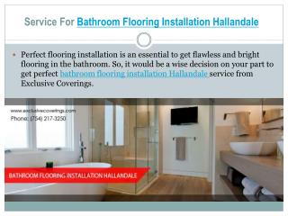Bathroom Flooring Installation Service In Hallandale
