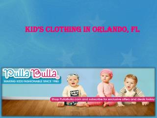Kid's clothing in Orlando, FL