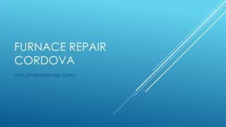 Furnace Repair Cordova