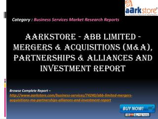 Aarkstore - ABB Limited