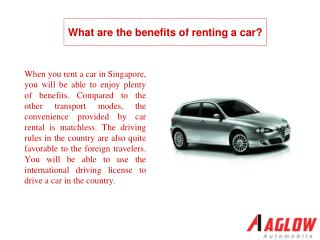 What are the benefits of renting a car?