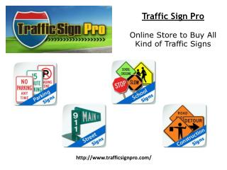 Traffic Stop Signs for Sale | (877) 897-8664 | TrafficSignPr