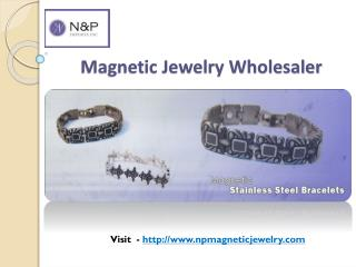Magnetic Jewelry Wholesaler