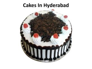 Cakes in Hyderabad