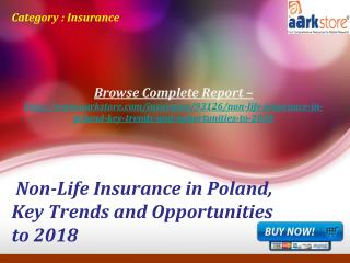 Aarkstore - Non-Life Insurance in Poland