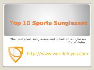 Top 10 Sports Sunglasses & Polarized Glasses – Worldofeyes