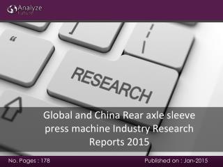2015 Rear axle sleeve press machine Industry