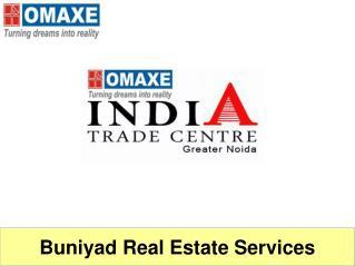 Get assured returne on Omaxe ITC Greater Noida