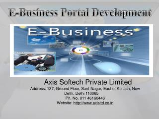 Axis-Softech-E-business-Portal-Solutions