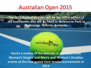 LIVSports.in | Australian Open 2015