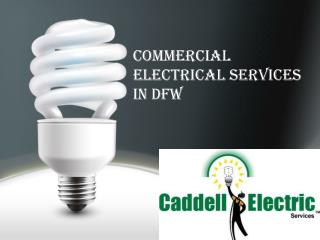 Commercial Electrical Services in DFW