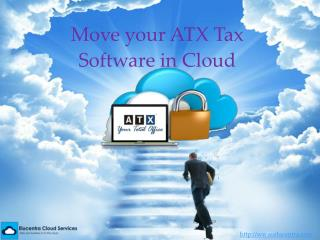 Hosted ATX Tax Software