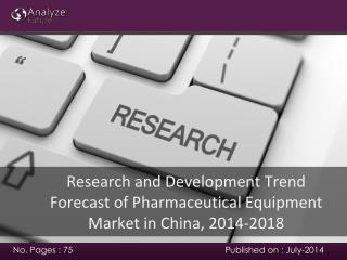 Analyze future: Forecast of Pharmaceutical Equipment Market