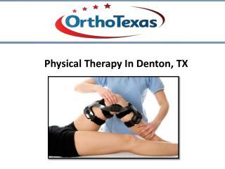 Physical Therapy at Denton, TX