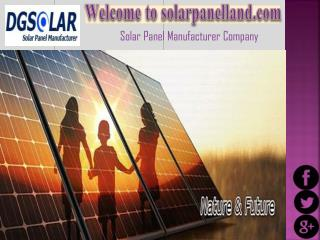 Professional Manufacturer of Solar Panels in China