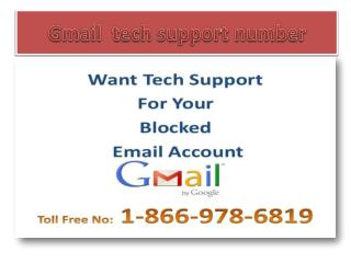 1-866-978-6819 Gmail tech support number |Gmail help number
