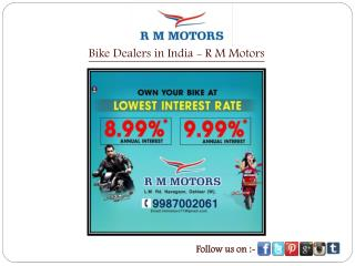 Bike Dealers in India - R M Motors