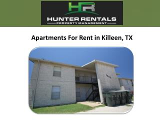 Apartments For Rent in Killeen, TX