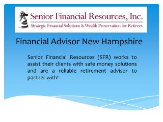 Financial Advisor New Hampshire